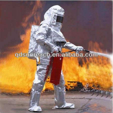 Fireman Radiation Protective Clothing