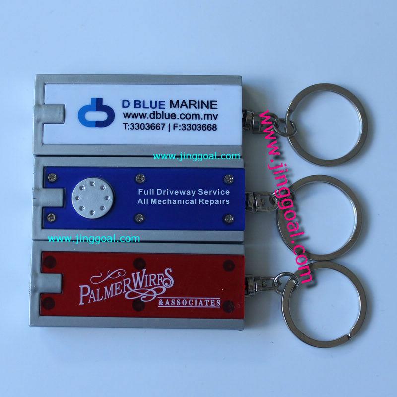Promotion light keychain