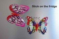whoeglowing в темный бабочка на ваш занавес! Яркие бабочки с магнита или ПИН-код для украшения дома и сада