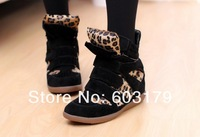 size 35-41 Women's  casual shoes.fashion leopard sneakers.sexy punk walking shoes sk2295