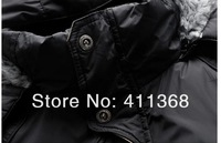Мужская ветровка 2013 Winter new men outdoor sports coat fashion thickening Cotton-padded clothes jacket