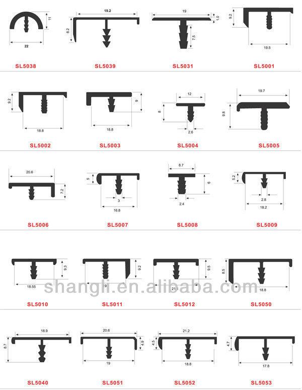 2012 новинка алюминиевая рама т-образный профиль для шкафа ( SL5030 )