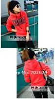 Женские толстовки и Кофты 2012, sports hoodie suit, fashion women hoodies, womens sweatshirts set