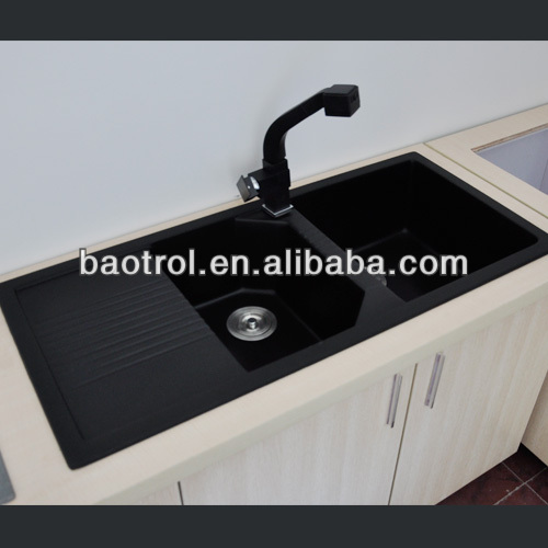 Solid Surface Kitchen Sink, Artificial Stone Wash Basin