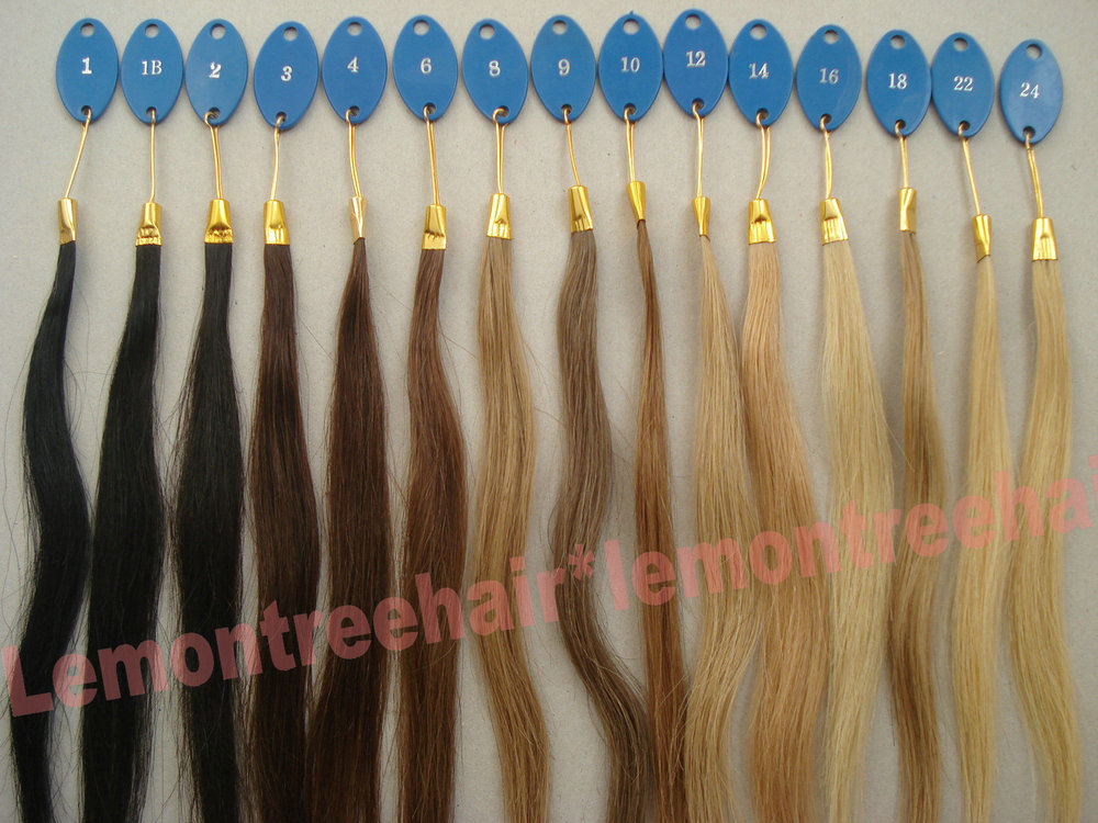 Great Lengths Extensions Color Chart 94