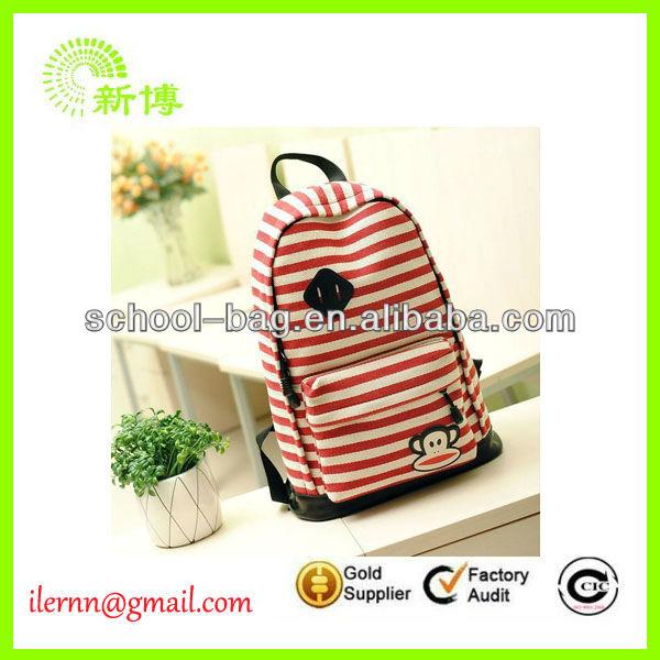 2014 Fashion school library bag
