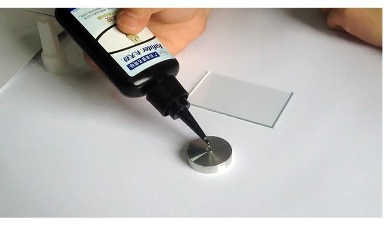 новые 50 мл kafuter k-302 УФ клей + УФ фонарик УФ отверждения клея стекло и металл склеивания, алюминий / сталь склеивание