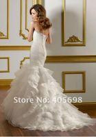 Свадебное платье 2012 hot ivory off shoulder wedding dresses lacing back