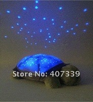 Детская плюшевая игрушка 1Pcs Turtle Night Light Stars Constellation Lamp Toy