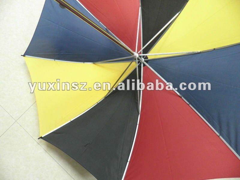 68.5cm*D8k manual golf umbrella with PP handle