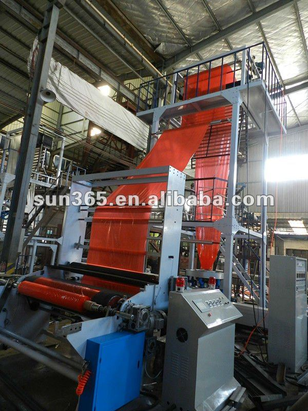 Multilayer Blown Film Extrusion Machine