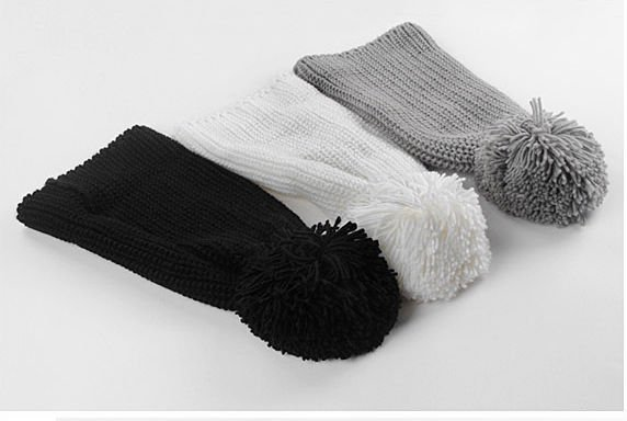 fashion winter milk knitted neck warmer