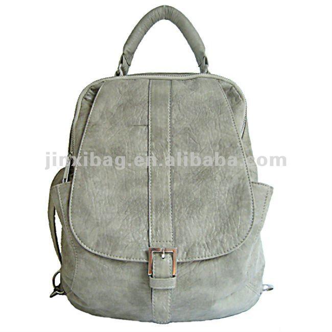 Dos funciones de la pu elegantes bolsos mochila