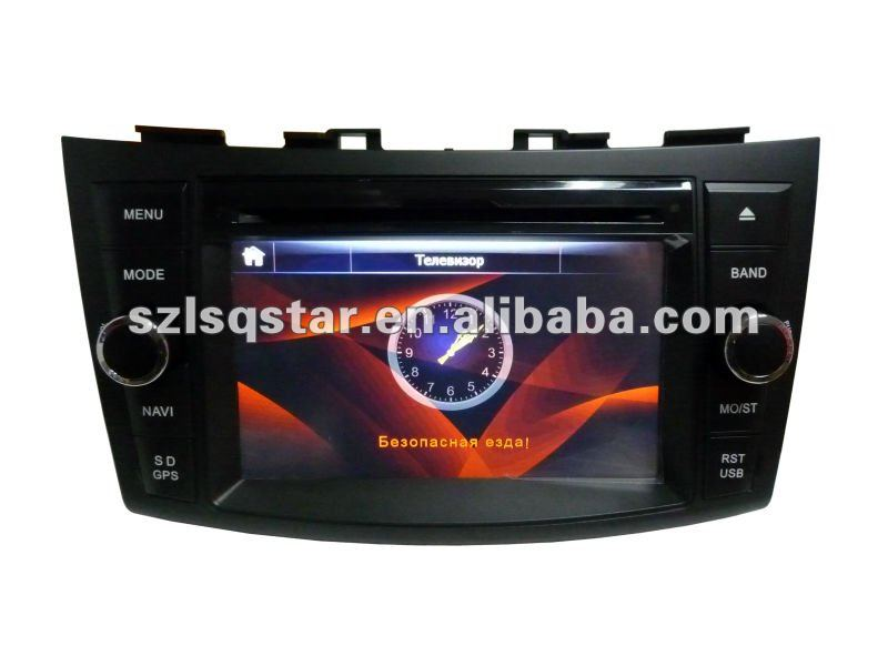 lsqstar 7 inch car audio for SUZUKI swift 2011 2012