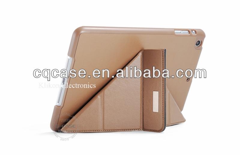 hot selling 3 flip for ipad mini leather case,Facoty produced ipad mini retina case