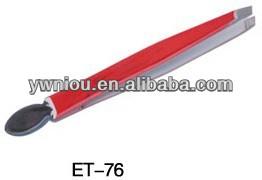 Slanted Tip Eyebrow Tweezer Stainless Steel Tweezer