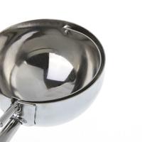 Порционная ложка для мороженного 6CM Kitchen Ice Cream Mash Potato Scoop Stainless Steel Spoon Spring Handle 10 pcs/lot, dropshipping