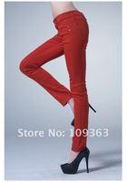 Женские брюки 2013 Fashion New Ladies' Pants, Plus Sizes 12colors Fashion oker Pants, Women's Casual Denim Pants, QQ1759