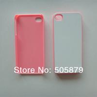 Чехол для для мобильных телефонов 100pcs sublimation case for i Phone4/4S