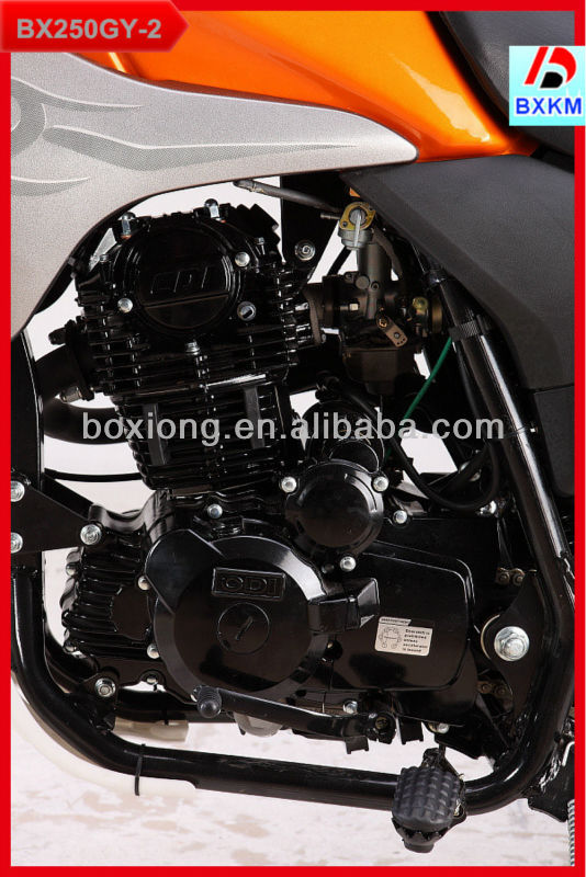 250CC Motorcycle Made In China With Inversion Front Absorber & Balance Enginee