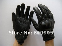 New Icon Pursuit Stealth Leather Gloves/Genuine Leather Motorcycle Racing Gloves/Motorcycle Riding Gloves/Motorbike Glove [k0