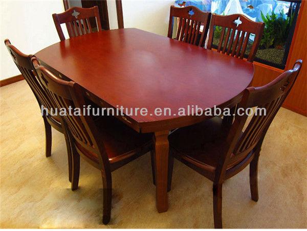 접이식 단단한 나무 테이블과 의자 저렴한 목재 가구 식당 ...