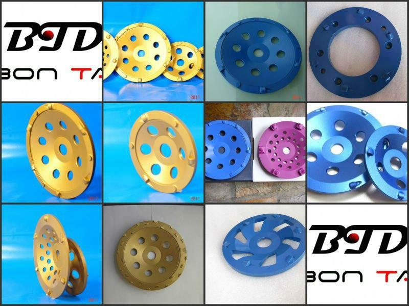 PCD Cup Wheels/PCD Grinding Wheels for concrete floor coating removal
