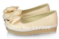 Туфли на высоком каблуке new fashion bow singles shoes