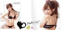 Комплект нижнего белья 2012 New fashion bra set, sexy underwear, high quality, Transparent sexy underwear, ladies' sex lingeries, buy it