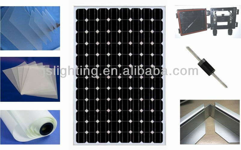 150W 160W 170W 180W price per watt solar panels solar pv modules