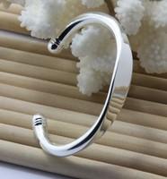 B001 925 браслет серебряные ювелирные изделия стерлингового серебра, никеля бесплатно, противоаллергические, Фабрика цена 925 браслет
