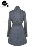 Женская одежда из шерсти XS-XL Manufacturers supply new Women's fashion wool coats #E028
