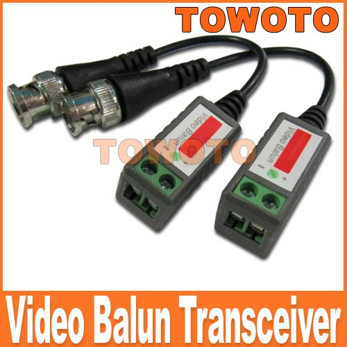 CAT5 To Camera CCTV BNC Video Balun