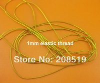 Швейная фурнитура Elastic threads 1mm gold color 120m garment tag string bag&package&Garment&Gift thread Cords