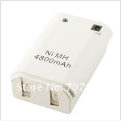 4800mAh USB Rechargeable Battery Pack with USB Charging Cable for XBox 360 Controllers.jpg
