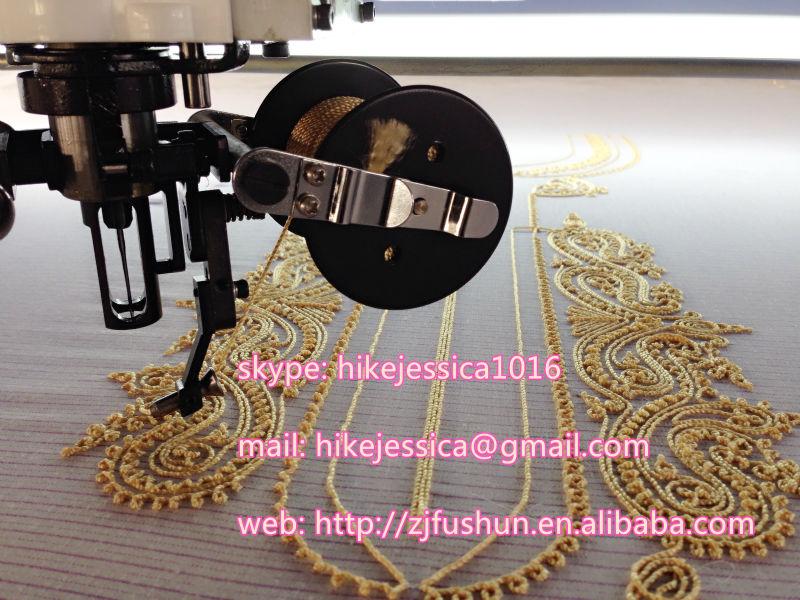 Fushun heads cording coiling taping beads ribbon and