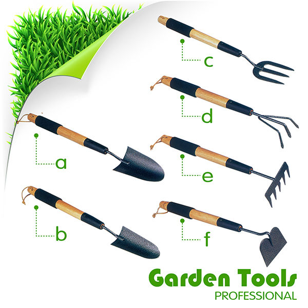 Gardening Tools And Their Names