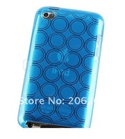 Чехол для для мобильных телефонов 200pcs/lot Circle Hard Gel Soft Case Cover Accessory For Apple iPod Touch 4G 4th TPU Case For ipod touch 4