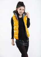 new fall and winter clothes Korean version of the candy-colored loose big yards down jacket coat feather cotton vest Women