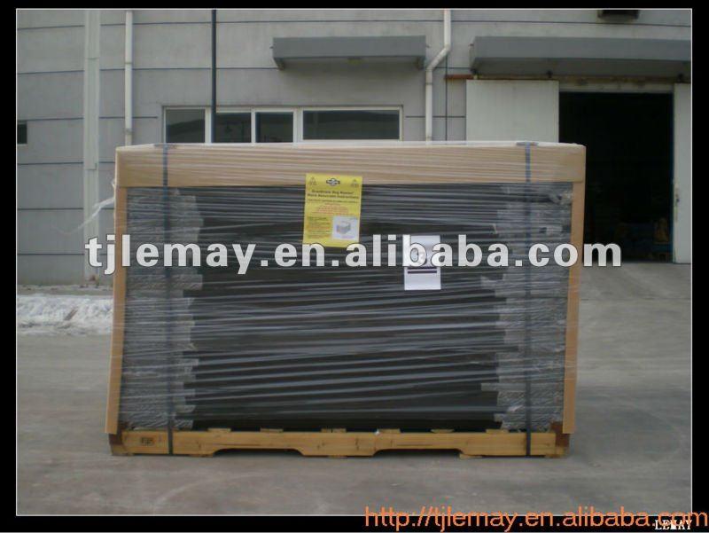 5' x 10' x 6' Wire mesh fencing dog kennel