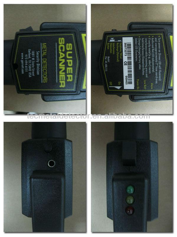 Super Scanner Handheld Metal Detector 1165180