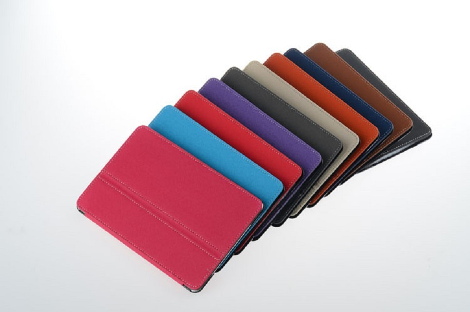 Stand PU case for ipad mini 2