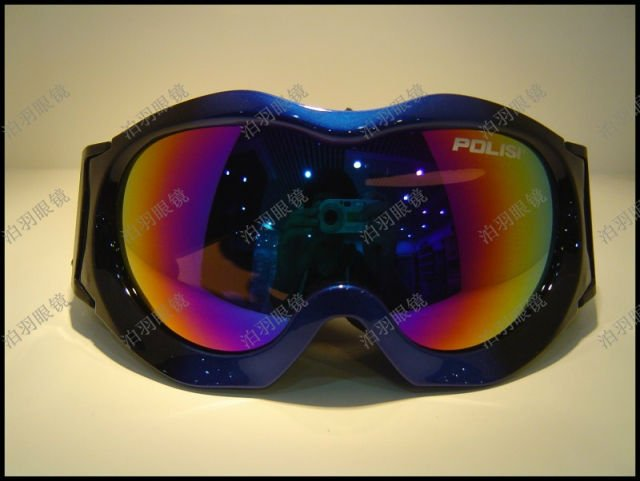 Free shipping New POLISI SKI SNOWBOARD GOGGLES DOUBLE LENS for kids 3- 12 years old RTP091