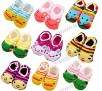 Носки для девочек 10Pair/Lot colorful Cartoon baby socks infant shoes 4167