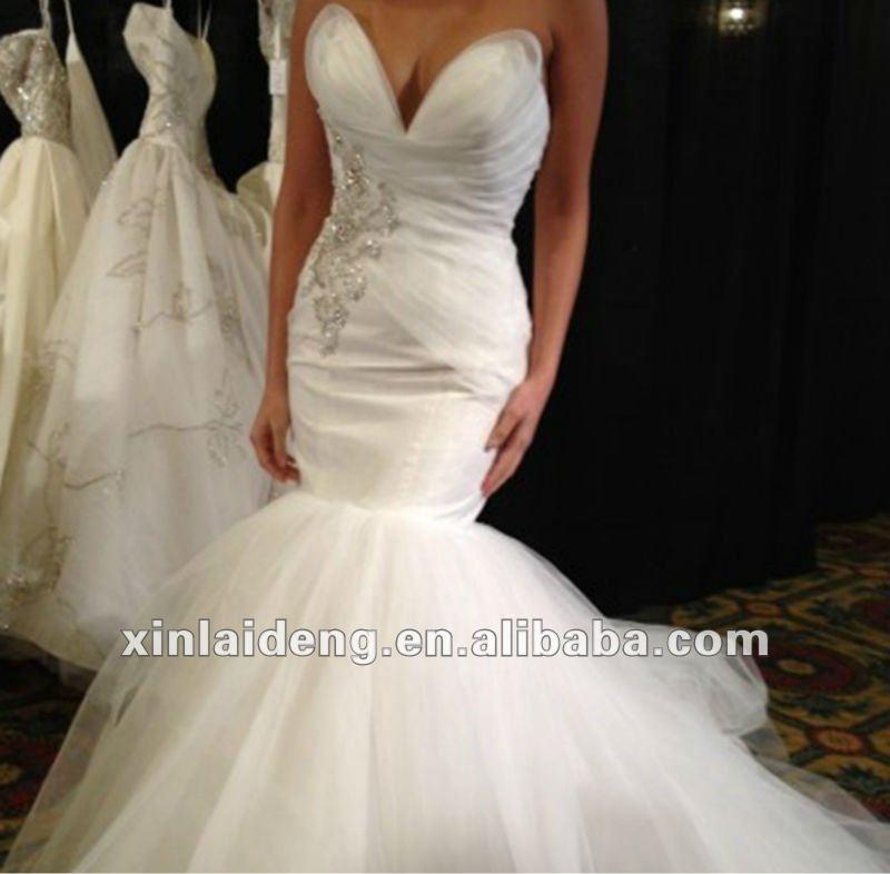 south africa sweetheart organza applique bodice mermaid wedding dress