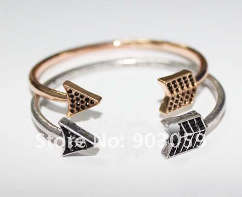 New arrival! House of  Harlow Antiqued Arrow Wrap bangle arrow bracelet free shipping wholesale/retailer