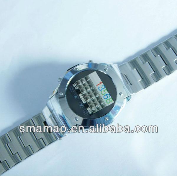 2013 Hot Selling Cheap New Fashion Quad-band MP3 Camera Wrist Watch Phone Wrist Phones