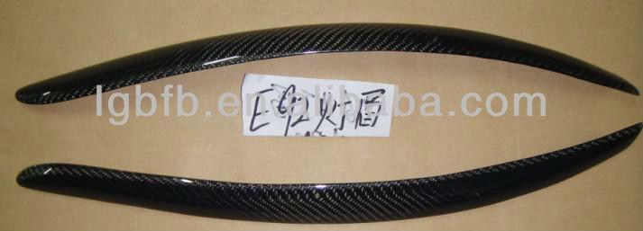 fiber carbon 2 pcs auto car truck eyebrow for BMW E92