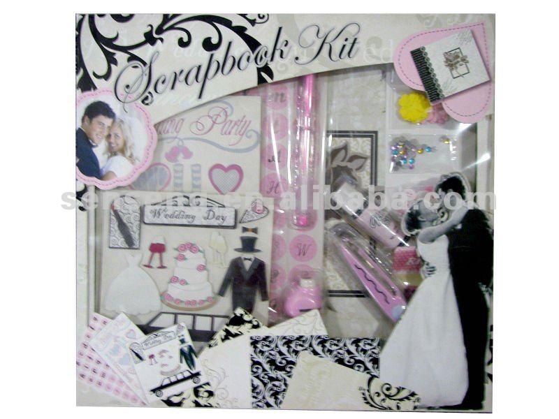 Wedding Scrapbook Paper Scrapbook Paper Album Kit