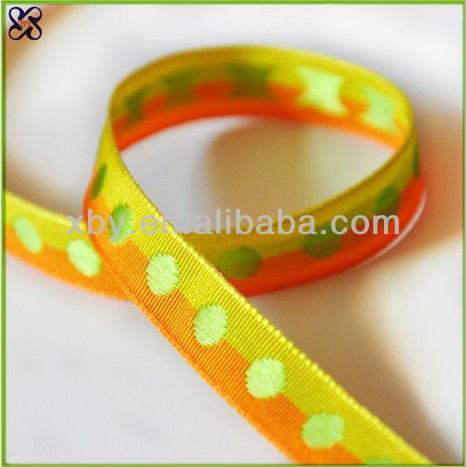 2015 Fashion custom woven ribbon manufacturer